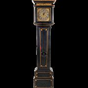English Ebonized Long Case Clock by Luke Wise of Reading