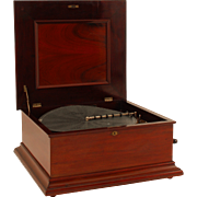 SALE New Century Double Comb 18″ Disc Music Box