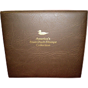 1988 America's State Duck Stamps Collection Album