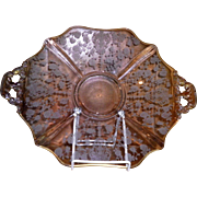 Cambridge Chantilly Handled Cake Plate