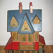 Antique Bliss Elegant large doll house