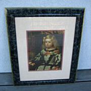 The Infanta Margarita Diego Velasquez print picture