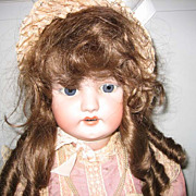 "Simon & Halbig antique bisque doll #1079  33"""