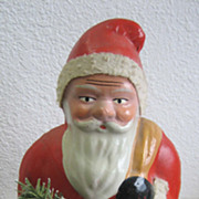 Antique Belsnickle Santa candy container