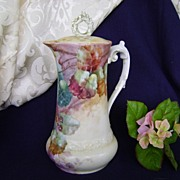 Antique Limoge Handpainted Coffeepot