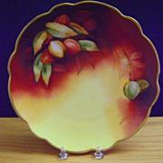 SALE Antique Limoges Handpainted Plate,Pickard artist