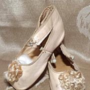 Lovely Keystone Doll Shoes Original Pom Poms