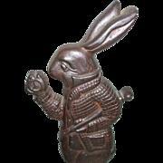 SALE Alice In Wonderland White Rabbit Character Cast Iron Doorstop