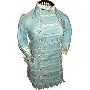 Victorian Turquois Child/Girls Dress