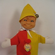 SALE Happy-ness Is This Fantastic Steiff Clown Puppet!
