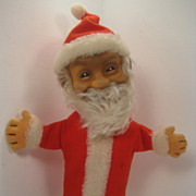 SALE It's Always Holiday Time With This Fantastic Steiff Santa Puppet