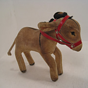 SALE Steiff's Smallest Velvet Donkey With  ID