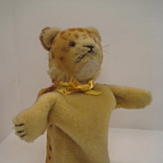 Steiff's Early and Dear Wool Plush Young Lion Puppet