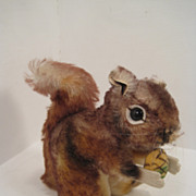 Steiff's Medium Sized Perri Squirrel With ID