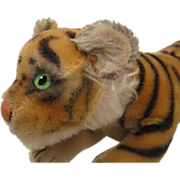 SOLD Steiff's Largest Running Tiger Cub - Red Tag Sale Item