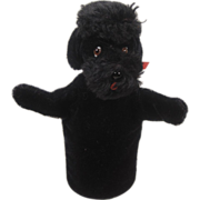 Steiff's Snobby Poodle Hand Puppet With IDs