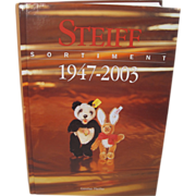 Steiff's 1947-2003 Sortiment Reference Book