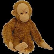 Schuco Totally Adorable and Most Unusual Mohair Baby Orangutan
