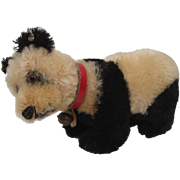 SOLD Steiff's Standing Panda With Two IDs
