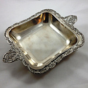 Massive French 800 silver entree dish by V. Boivin