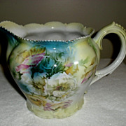 SALE Lovely RS Prussia Lemonade Pitcher floral motif