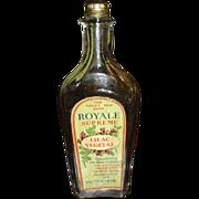 Old Paper Label Fragrance Bottle ED. Gerarde Chicago