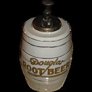 Early 1900's  Douglas Root Beer Soda Fountain Syrup Dispenser Circa 1915 era