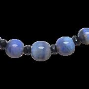 Art Deco Black Opal Beads circa 1920