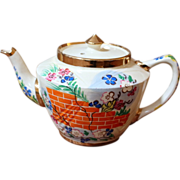 Vintage Hand Painted Tea Pot.