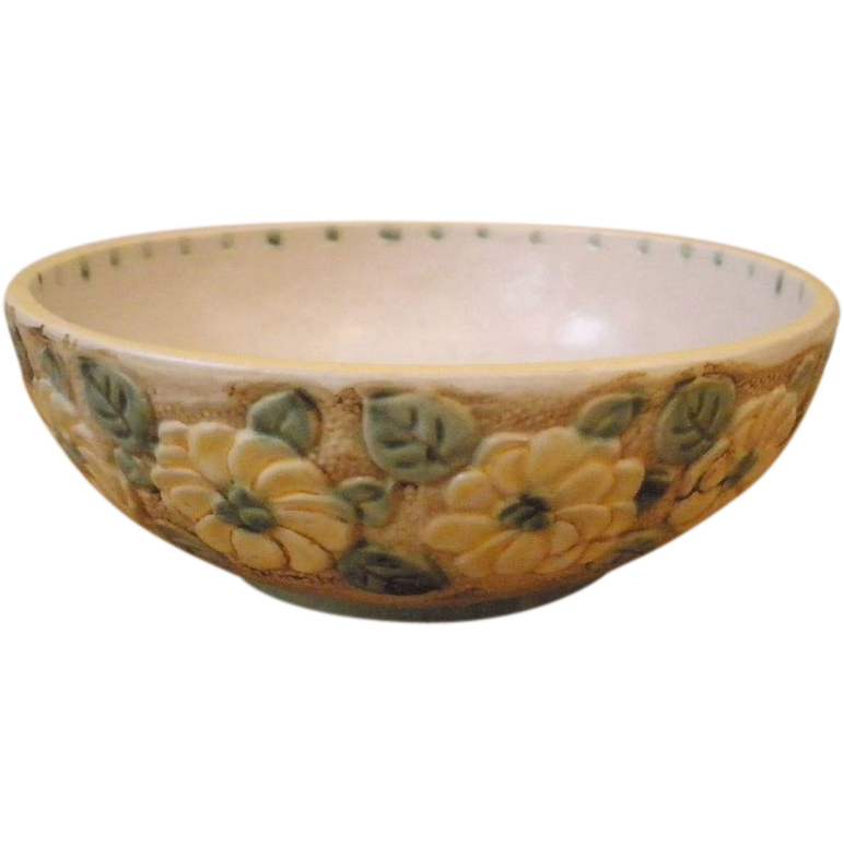 Vintage English Denby Ware Art Pottery Bowl.