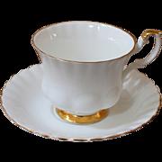 English Bone China Tea Cup & Saucer, Royal Albert
