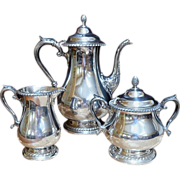 REDUCED Gorham Silver Plate Tea/Coffee Set.