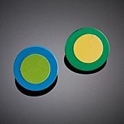 Anodized Aluminum Double Disc Posts