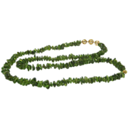 Artisan Crafted Genuine  Over 1000 Cts of Peridot With 14 Karat Gold over Sterling Designer Fi