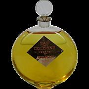 Worth Paris Perfume Factice Bottle Display Never Opened Original Liquid