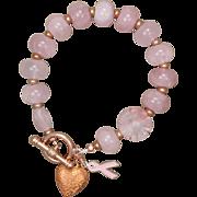 Pretty in Pink Rose Quartz Bracelet