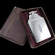 Cigarette case lighter Ronson chrome vintage Art Deco M63 C&E Near Mint Unused Old ...