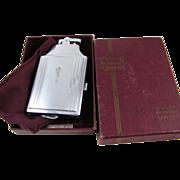 Cigarette case lighter Ronson chrome vintage Art Deco M29 C&E Near Mint Unused Old ...
