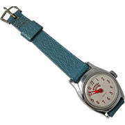 RUNNING Vintage Ingersoll U.S. Time Mickey Mouse character girls ladies childs womens wrist wa