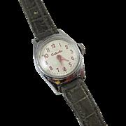 NEEDS SERVICED wrist watch vintage Cinderella Walt Disney US Time cartoon character girls chil