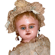 """SALE PENDING AO Charming Wax Over 15"""" doll"""