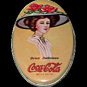 1981 Coca Cola Advertising Tin Sewing Kit