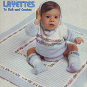 Five Knitting and Crochet Booklets for Babies 1972 - 1981