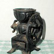 R. F. Smale Miniature Cast Iron Coffee Mill