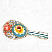 Italian Mosaic Mandolin Pin