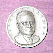 SALE Silver Presidential Medal - Harry S. Truman