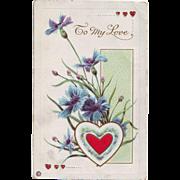 Valentine Postcard - To My Love