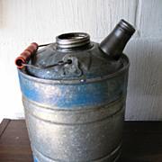 Tin Kerosene Can