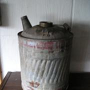 Galvanized Kerosene Oil Can