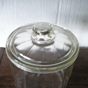 Glass Store Cigar Jar